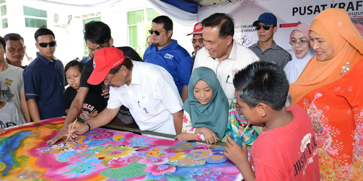 Yayasan Sabah With The People Roadshow, Libaran, Sandakan - 5 March 2017