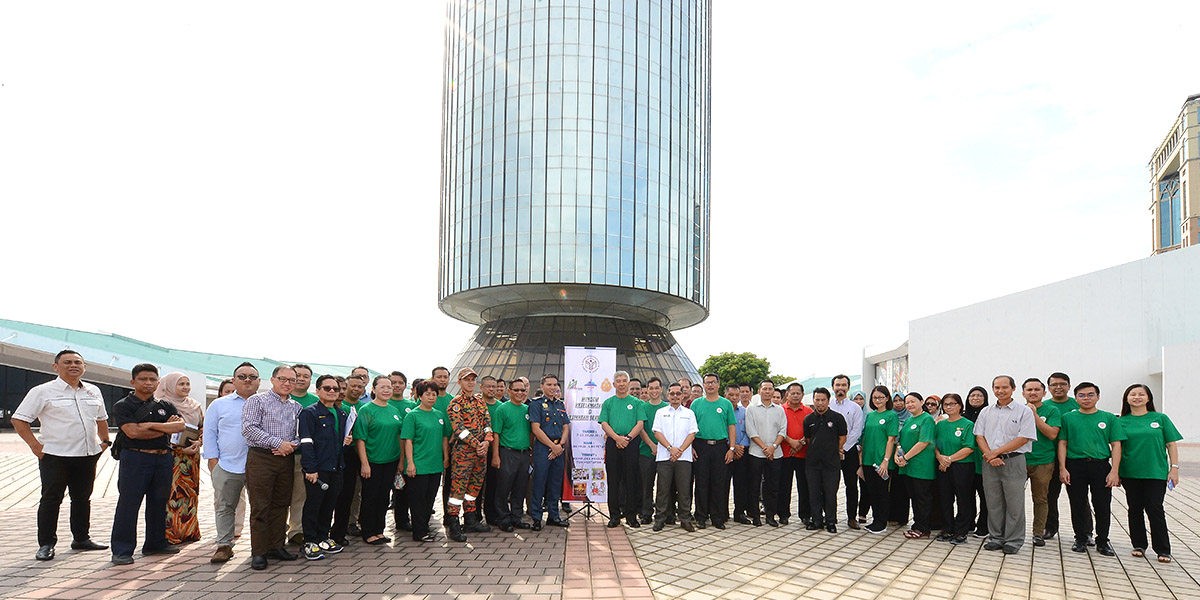 Yayasan Sabah Group Occupational Safety and Health Week | Menara Tun Mustapha | 8 July 2019.