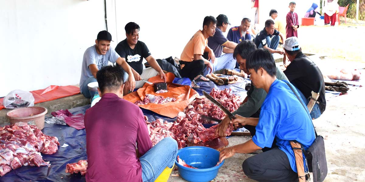 Qurban Programme in conjunction with Hari Raya Aidiladha Celebration | Ranau | 13 August 2019